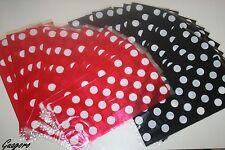 Mickey Minnie Polka Dot Favor Goody Bags Treat sacks Birthday Party Supplies Box