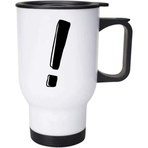 /'Exclamation Mark/' Ceramic Mug Travel Cup MG012327