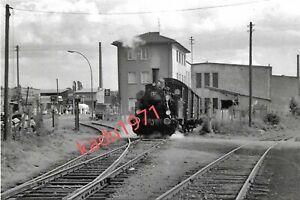 E92) Foto Lok 36. Ziegelei - Hangelar. Kleinbahn Beuel. Eisenbahn, 11.7.1962