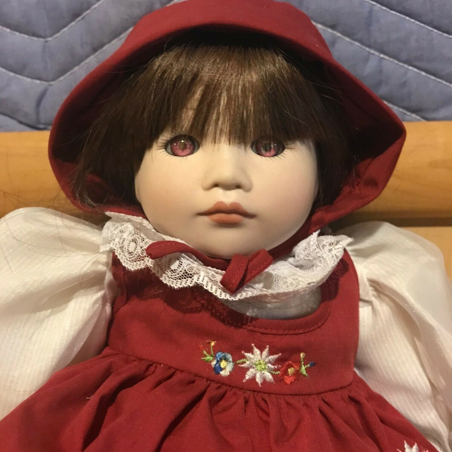 rot Riding Hood , Dolls by Pauline