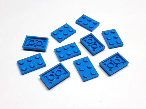 6144149 Lego Platte 2 x 3 dunkel Azurblau 10 Stück Neu