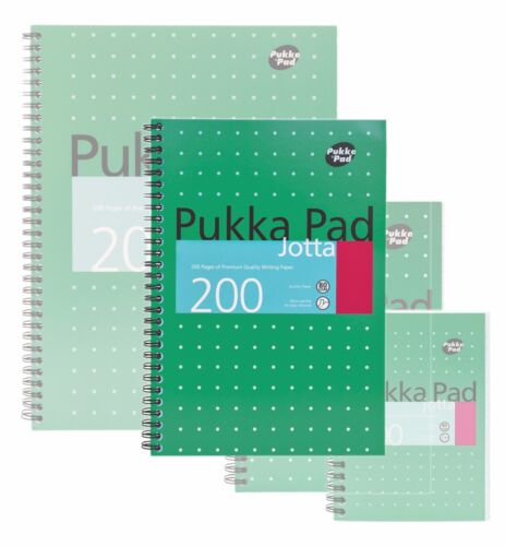 Pukka Pad Metallic Jotta Notebook 200 Pages 80gsm A4 A5 A6 B5 Buy More Save More