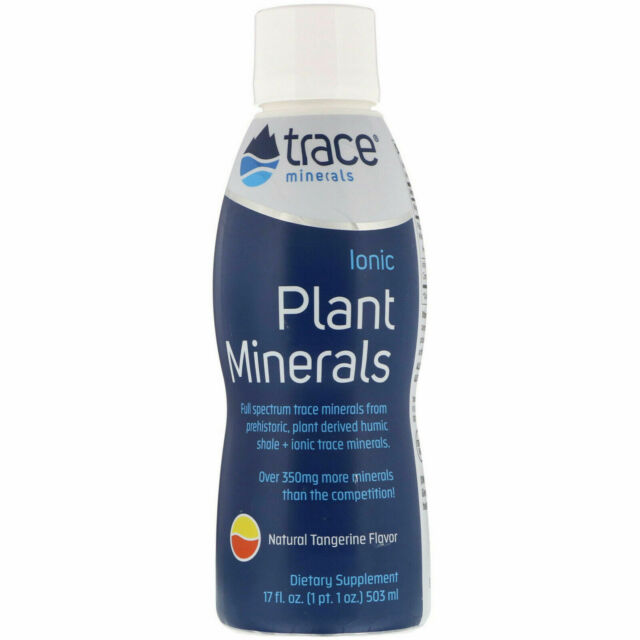 Trace Minerals Research, Ionic Plant Minerals, Tangerine Flavour, (503 ml)