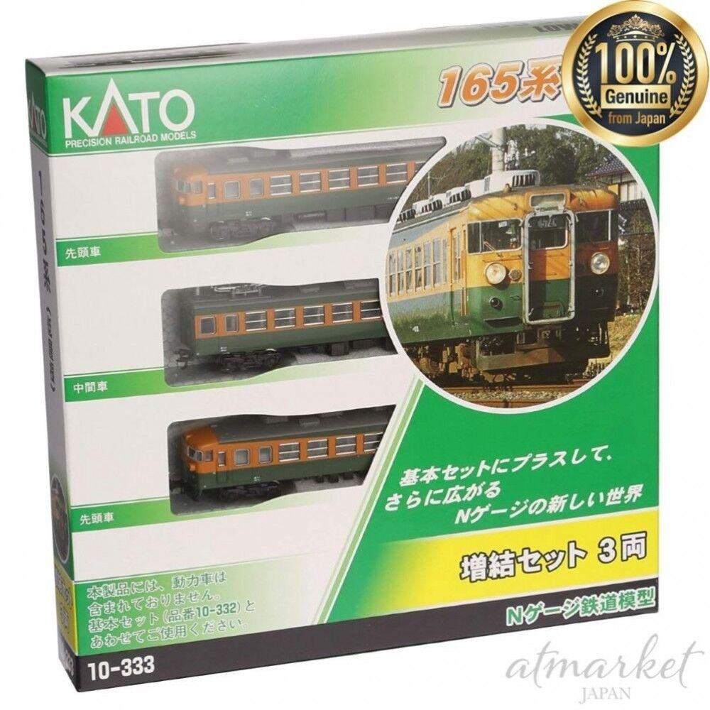 Kato 10-333 Nenngröße n 165 Serie Low Dach Erweiterung (3 Ringe) Original aus