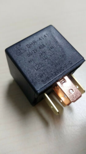 1xUM 6,3mm 40A 5Pin Universal //Standort DE 1 x  KFZ  Relais 12V