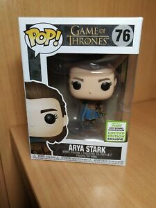 Funko-pop-Arya-Stark-76-ECCC-2019-Game-of-thrones-original