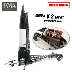 WWII GERMANY V2 Rocket Finished 1//72 Model PMA non Diecast