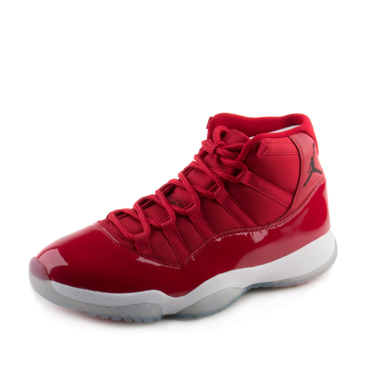 Mens Air Jordan 11 Retro  Win Like 96  Gym Red Black 378037-623