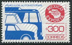 MEXICO ~ #1136a Beautiful Mint Never Hinged Issue TYPE II AUTOMOBILES ~ S5488