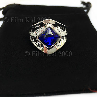 SARUMAN RING TWO TOWERS RETURN OF THE KING THE WHITE HOBBIT LORD OF THE RINGS