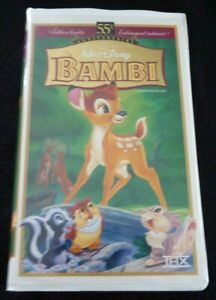 VHS-French-Movie-Bambi-Walt-DisneyPictures-Edition-Limitee