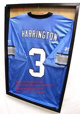 Jersey Display Case 3 Frame Shadow Box Football Baseball Basketball Bsn