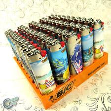 50 BIC TATTOO LIGHTER Ocean Side Cigarette Tobacco Maxi Big J26 Cigar Large C