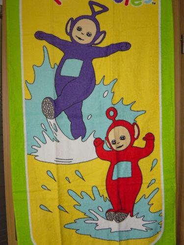 Teletubbies serviette pour enfants 50//90 cm article neuf