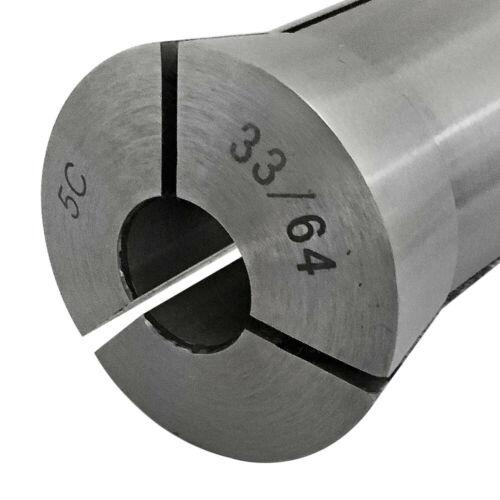 33//64 Inch Precision 5C Round Collet Bridgeport Lathe Fixture Milling