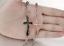 Bracciale-Braccialetto-Acciaio-Rosario-Crocifisso-Croce-Uomo-Donna-Unisex-Catena miniatura 10