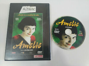Amelie-Audrey-Tautou-Jean-Pierre-Jeunet-DVD-Region-2-ESPANOL-FRANCAIS