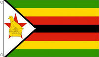 3' x 2' Zimbabwe Flag Zimbabwean National Flags Africa African Country Banner