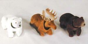 4-BOBBING-HEAD-WILD-ANIMALS-DASHBOARD-novelty-toy-moving-bears-moose-car