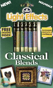 6 Skeins of DMC Cross Stitch Floss / Thread Classical Blends #LTE317WPK7