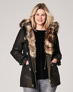 Simple-Be-Premium-Luxe-Parka-Green-Size-18-rrp-95-49-SA170-AA-15