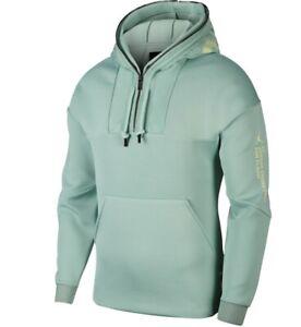 pegar fondo Desmantelar  Nike Jordan 23 Engineered 1/2 Zip Hoodie Luminous Green AT9779-333 ...