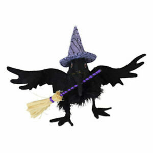 Annalee-Dolls-2019-Halloween-6in-Hocus-Pocus-Crow-Plush-New-with-Tags
