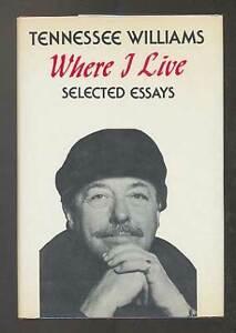Tennessee Williams Essay - Words