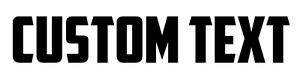 YOUR-TEXT-Vinyl-Decal-Small-Size-Sticker-Car-Window-Bumper-CUSTOM-0-50-034-x-3-034