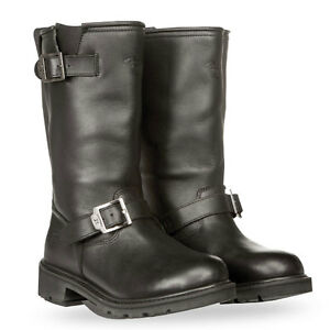 954e279127e Details about HIGHWAY 21 Men's PRIMARY ENGINEER Leather Riding Boots  (Black) Choose Size