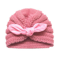 8c1d7c741233 Buy Aivtalk Baby Girls Rabbit Pattern Cap Winter Soft Woolen Knitted ...