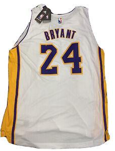 New Kobe Bryant Rare Mens Size XL Adidas Rev 30 White Lakers ...