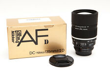 Nikon Nikkor 135mm 135 F/2.0D f/2D f2 DC AF Lens (Defocus Image Control) ** USA