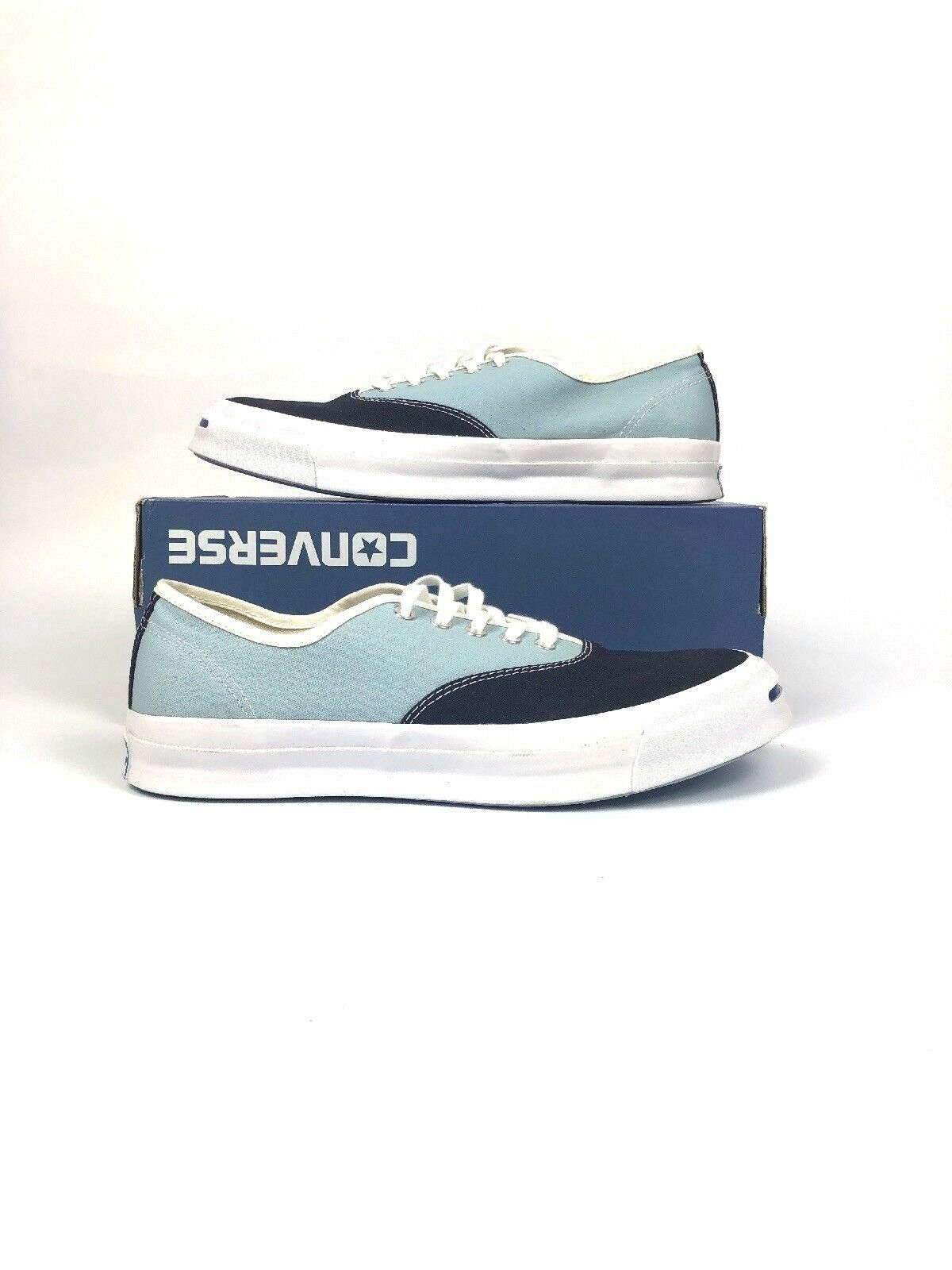 Converse Jack Purcell Signature CVO Ox Inked Ambien Blue/White Casual 151455C 1