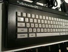 "Amstrad / Schneider CPC 6128 PSU RGB Joystick 5x3"" Disks Games 3.5""/Gotek ready"