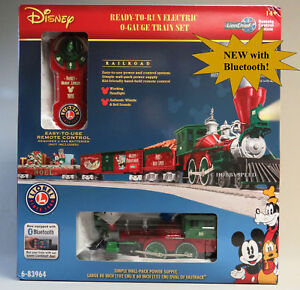 image is loading lionel disney christmas lionchief rc bluetooth train set