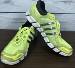 new arrival c8a3a 24744 Details about Adidas Climacool mens 11.5 Neon Yellow Metallic Running  Exercise Tennis Shoes