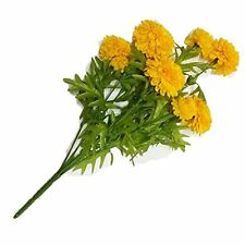Yellow Marigold Bunch, Artificial flowers, Marigold flowers, Yellow Flowers New