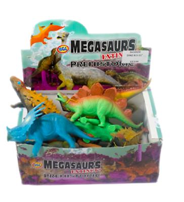 Sv10329 Jurassic Prehistoric T-rex Toy Kids Fun Shrink-Proof Animals & Dinosaurs Megasaurs Awesome Dinosaur Action Figures