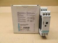 1 Siemens 3rs1101-1ck30 Temperature Monitoring Relay , 0-600, 120vac