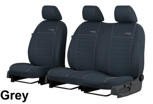 MERCEDES VITO W639 2003-2014 STRONG FABRIC SEAT COVERS MADE TO MEASURE FOR VAN