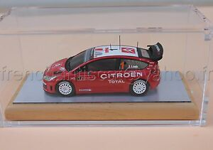 C079 Voiture Miniature 1/43 Citroen C4 Loeb Wrc Portugal Heco Provence Collector