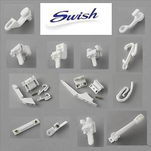 Swish Track Gliders Brackets Curtain Hooks Joiners