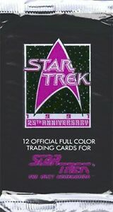 Star-Trek-The-Next-Generation-Series-II-25th-Anniversary-Trading-Cards-Pack-i