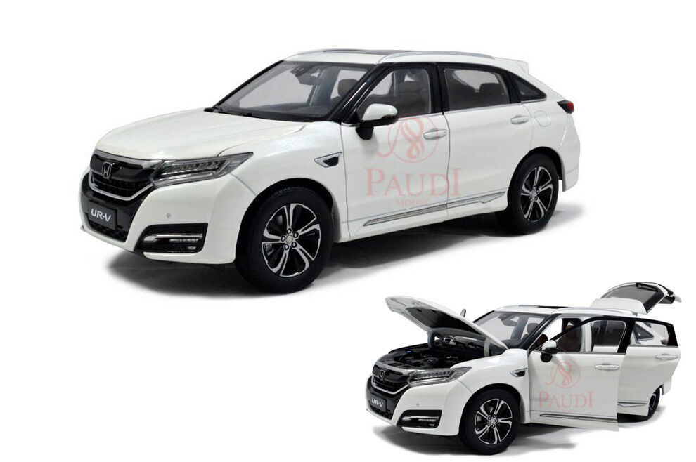 1     18 - 1  18 escala  modelo de moldeado blancoo de honda ur - V URV SUV 2017 7b8