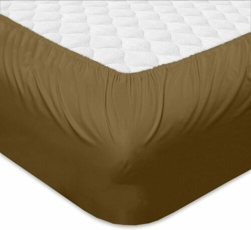 100/% Microfiber Custom RV Bed Sheet Set Taupe Queen//King All Size RV Sheets