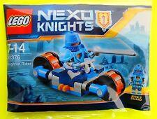 Lego Nexo Knights 30376 Knighton Rider Bicicletta 2017 Sacchetto Plastica