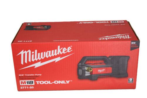 Milwaukee 2771-20 M18 18 volt Cordless Water Transfer Pump 480 Gallons//hour