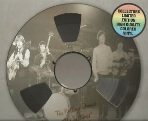 "THE ROLLING STONES - ""THE SESSIONS"" VOLUME ONE CLEAR VINYL 10-INCH NUMBERED LP"