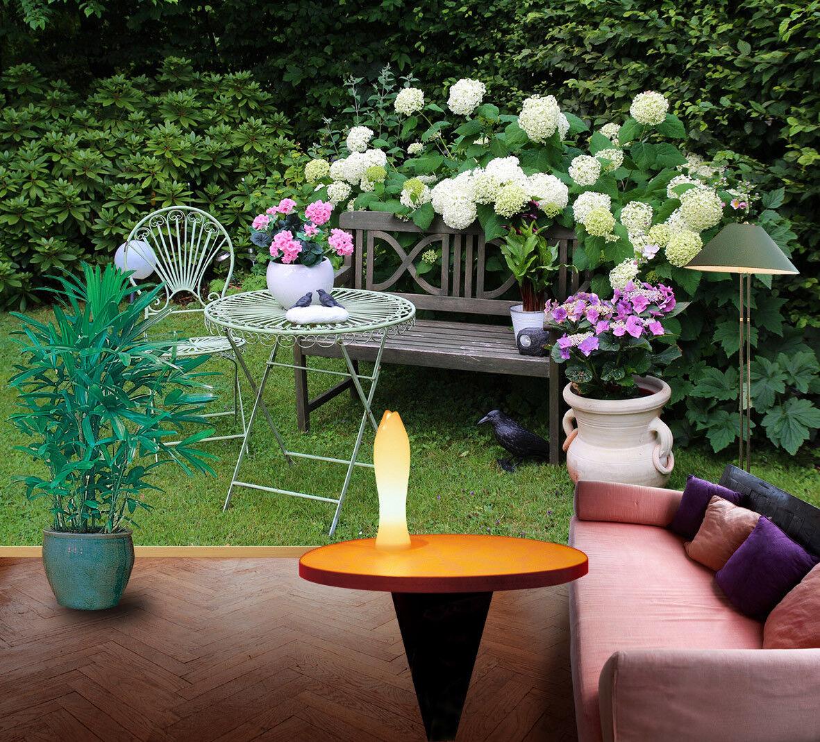 3D Garten Gras Blaumen 9588 Tapete Wandgemälde Tapeten Bild Familie DE Lemon    Düsseldorf Online Shop    Qualitativ Hochwertiges Produkt    Düsseldorf Online Shop